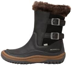 merrell womens boots canada merrell s decora chant waterproof winter boot amazon ca