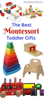 the best gifts for a montessori toddler living