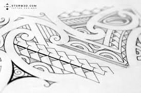 maori inspired designs and tribal tattoos images