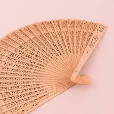 sandalwood fan sandalwood fan pack of 20 palm and bamboo fans wedding