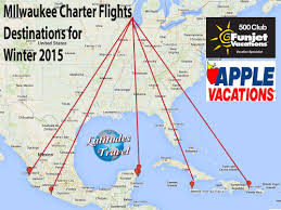 Map Of Ixtapa Mexico by Funjet U0026 Apple Vacations Offer Direct Milwaukee Charter Flights
