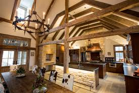 ranch home interiors ranch dining room and kitchen by dallas architect steve