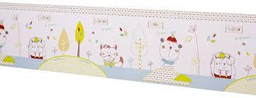 frise murale chambre bébé frise murale chambre bebe fille paihhi bébé nounours séduisante