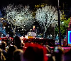 photos national christmas tree lighting ceremony washington dc