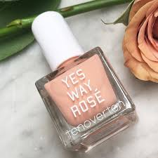 introducing yes way rosé x tenoverten new nail collaboration vogue