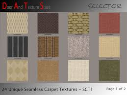 second marketplace 24 different seamless carpet textures