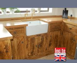 solid pine kitchen cabinets rustic pine kitchen cabinets the rustic plank kitchen unit