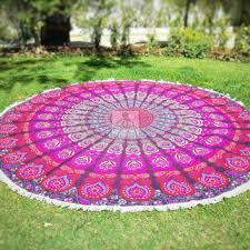Outdoor Picnic Rug Boho Throw Mandala From Mithiandbillu On