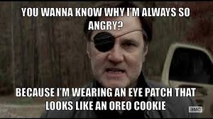 Oreo Memes - oreo eye patch by onyxcarmine on deviantart