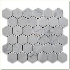 Carrara Marble Floor Tile Carrara Marble Floor Tile Hexagon Tiles Home Decorating Ideas