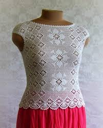 crochet blouses 4 wonderful summer crochet blouses with graphics crochet