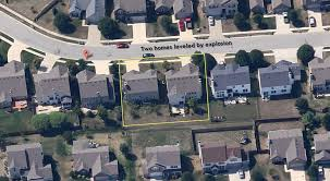 Maps Indianapolis Indy Explosion Aerial Google Maps Of Two Homes Before Leveled By