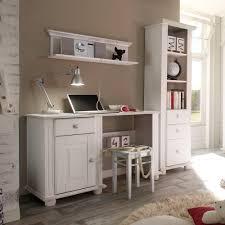 Schreibtisch Massivholz G Stig Kinderzimmer Laura Weiß Schreibtisch Kiefer Massiv Carryfurn