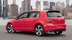 red volkswagen golf vwvortex com us spec facelifted 2018 volkswagen golf golf gti