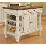 white kitchen island with butcher block top crosley furniture kitchen island with butcher block