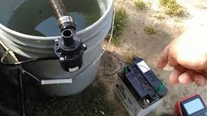 polaris 400 2 stroke water pump modification first test youtube