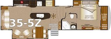 crossroads cruiser fifth wheel floor plans northwood arctic fox fifth wheels
