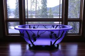 glass bathtub for sale frosted purple glass bathtub imgur