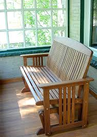 furniture wood porch glider design for your traditional outdoor