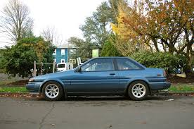 modified toyota corolla 1990 view of toyota corolla levin coupe photos video features and
