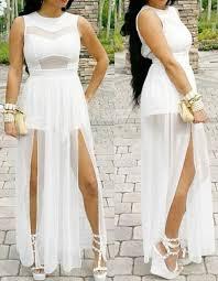 white jumpsuits plus size 2x 3x plus size slits lace chiffon jumpsuit maxi dress