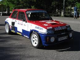 renault 5 turbo racing renault 5 turbo grp b tdc paddock 42