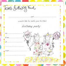 twins birthday invitations tr twins invitations u0026 birth