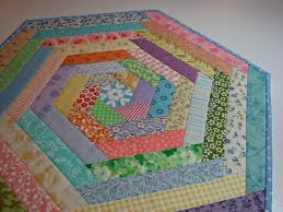 quilted table topper easter spring table topper pastel prints