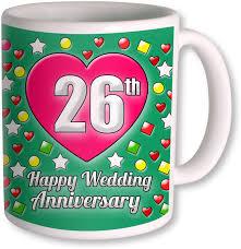 26th wedding anniversary photogiftsindia gifts for 26th wedding anniversary coffee ceramic