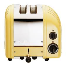 Bread Toasters Dualit New Gen 2 Slice Canary Yellow Toaster 20298 The Home Depot