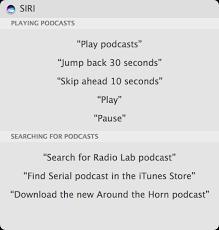 use siri on the mac a list of mac siri commands