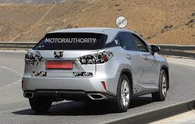 lexus suv hybrid turbo mystery lexus rx spotted in europe lexus enthusiast community forums
