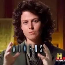 Giorgio Tsoukalos Aliens Meme - ancient aliens funny meme with sigourney weaver as giorgio tsoukalos