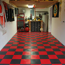 flooring ideas balck and red rubber garage floor mats with small
