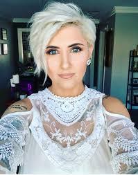 is a pixie haircut cut on the diagonal best 25 platinum pixie cut ideas on pinterest grey pixie hair