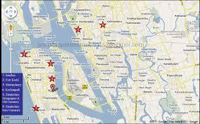 Google Map India by Kochi India Map Google