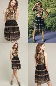 embroidered vigne dress by varun bahl dress casual dress women u0027s