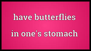 butterflies in one s stomach meaning