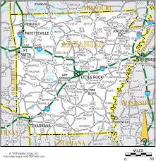 map of arkansas arkansas map