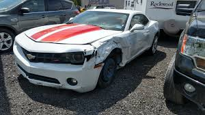 2010 camaro lt for sale left side damage 2010 chevrolet camaro lt coupe repairable