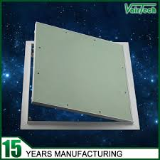 gypsum board in wall access panel inspection removable door