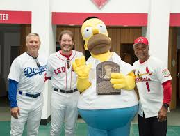 J Homer Ball Funeral Home by 25 Years After U0027homer At The Bat U0027 Homer Simpson Is Now A Member