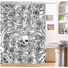 online get cheap halloween shower curtain aliexpress com