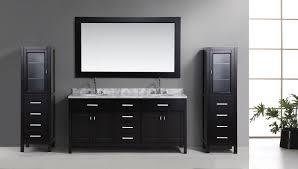 bathroom vanity with linen tower tags bathroom linen cabinet
