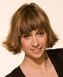 flip hairstyles for long face shape bob haircut with flip out styling for faces with angular shapes