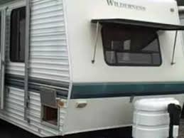 fleetwood travel trailer floor plans terry http 1998 wilderness 26h travel trailer flv youtube