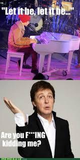 Beatles Memes - live and let die bieber memebase funny memes