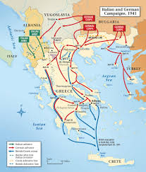 Germany Ww2 Map by Crete During The World War 2 Invasion Resistance And Liberation