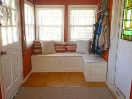window bench with storage diy bench decoration
