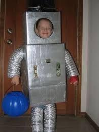 Halloween Costumes 2014 Happy Homemade Coolest Homemade Bro Bots Halloween Costumes Robot Costumes
